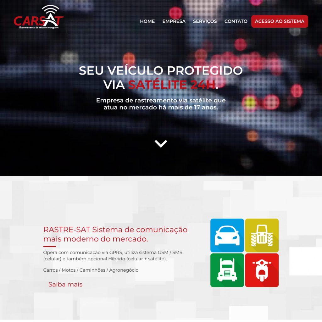 Portfólio - Alvetti Comunicação - Site Carsat